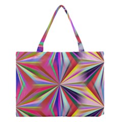 Star A Completely Seamless Tile Able Design Medium Tote Bag by Nexatart