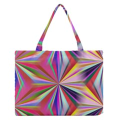 Star A Completely Seamless Tile Able Design Medium Zipper Tote Bag