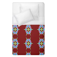 Geometric Seamless Pattern Digital Computer Graphic Duvet Cover (single Size) by Nexatart