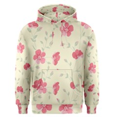 Seamless Flower Pattern Men s Pullover Hoodie by TastefulDesigns