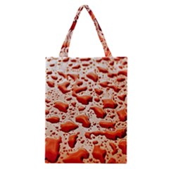 Water Drops Background Classic Tote Bag by Nexatart