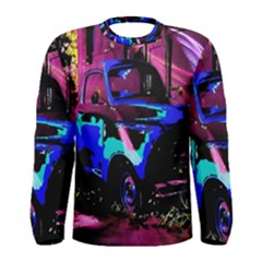 Abstract Artwork Of A Old Truck Men s Long Sleeve Tee by Nexatart