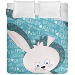 Easter Bunny  Duvet Cover Double Side (california King Size)