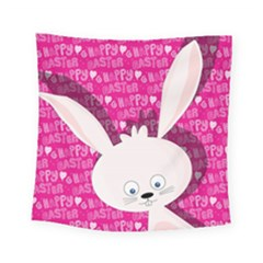 Easter Bunny  Square Tapestry (small) by Valentinaart