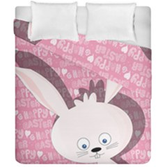 Easter Bunny  Duvet Cover Double Side (california King Size) by Valentinaart