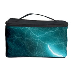 Light Web Colorful Web Of Crazy Lightening Cosmetic Storage Case by Nexatart