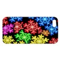 Colourful Snowflake Wallpaper Pattern iPhone 5S/ SE Premium Hardshell Case View1