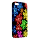 Colourful Snowflake Wallpaper Pattern iPhone 5S/ SE Premium Hardshell Case View2