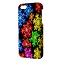 Colourful Snowflake Wallpaper Pattern iPhone 5S/ SE Premium Hardshell Case View3