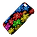 Colourful Snowflake Wallpaper Pattern iPhone 5S/ SE Premium Hardshell Case View4