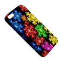 Colourful Snowflake Wallpaper Pattern iPhone 5S/ SE Premium Hardshell Case View5