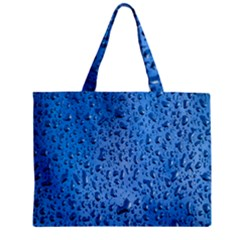 Water Drops On Car Zipper Mini Tote Bag by Nexatart