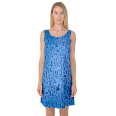 Water Drops On Car Sleeveless Satin Nightdress by Nexatart