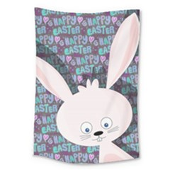 Easter Bunny  Large Tapestry by Valentinaart
