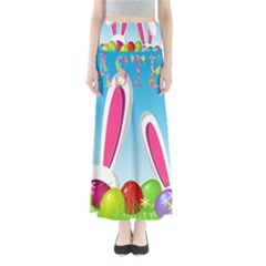 Easter Bunny  Maxi Skirts by Valentinaart
