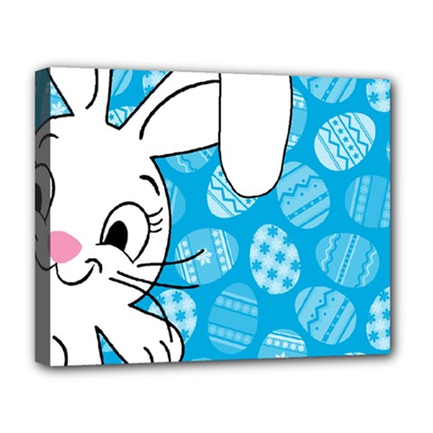 Easter Bunny  Deluxe Canvas 20  X 16