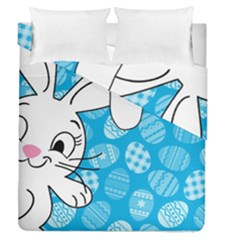 Easter Bunny  Duvet Cover Double Side (queen Size)