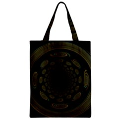 Dark Portal Fractal Esque Background Classic Tote Bag by Nexatart