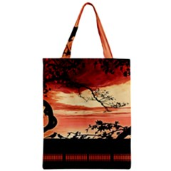 Autumn Song Autumn Spreading Its Wings All Around Zipper Classic Tote Bag by Nexatart