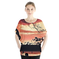 Autumn Song Autumn Spreading Its Wings All Around Blouse
