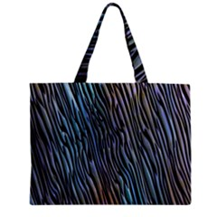 Abstract Background Wallpaper Zipper Mini Tote Bag by Nexatart