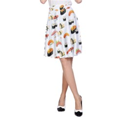 Sushi Lover A Line Skirt by tarastyle