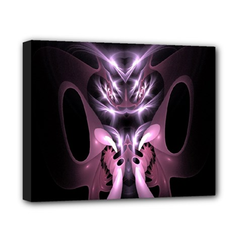 Angry Mantis Fractal In Shades Of Purple Canvas 10  X 8  by Nexatart