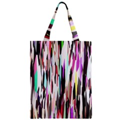 Randomized Colors Background Wallpaper Zipper Classic Tote Bag by Nexatart