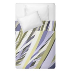 Wavy Ribbons Background Wallpaper Duvet Cover Double Side (single Size)