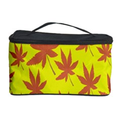 Autumn Background Cosmetic Storage Case