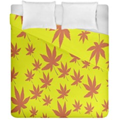 Autumn Background Duvet Cover Double Side (california King Size) by Nexatart