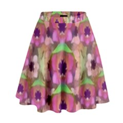 It Is Lotus In The Air High Waist Skirt by pepitasart