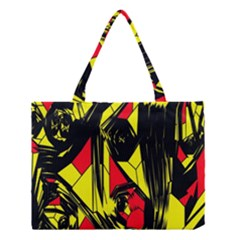 Easy Colors Abstract Pattern Medium Tote Bag by Nexatart