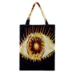 Flame Eye Burning Hot Eye Illustration Classic Tote Bag