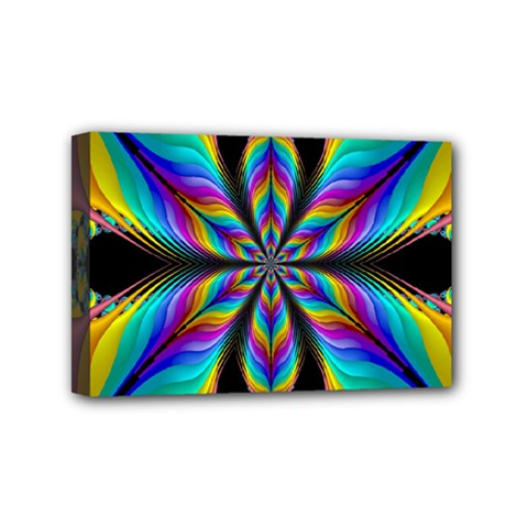 Fractal Butterfly Mini Canvas 6  X 4  by Nexatart