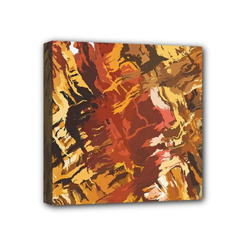 Abstraction Abstract Pattern Mini Canvas 4  X 4