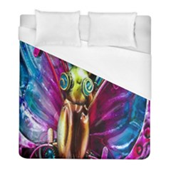 Magic Butterfly Art In Glass Duvet Cover (full/ Double Size) by Nexatart