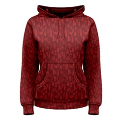 Bicycle Guitar Casual Car Red Women s Pullover Hoodie by Mariart