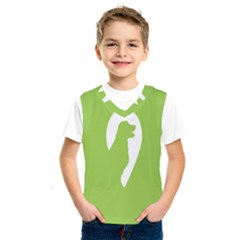 Dog Green White Animals Kids  Sportswear by Mariart