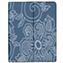 Flower Floral Blue Rose Star Apple iPad 3/4 Flip Case View1