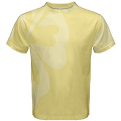 Hibiscus Custard Yellow Men s Cotton Tee by Mariart