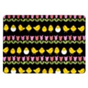 Easter - chick and tulips Samsung Galaxy Tab 10.1  P7500 Flip Case View1