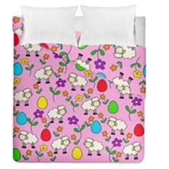 Easter Lamb Duvet Cover Double Side (queen Size)