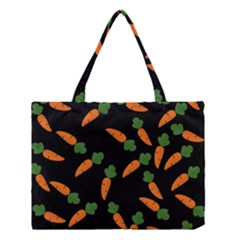 Carrot Pattern Medium Tote Bag by Valentinaart