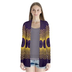 Polka Dot Circle Leaf Flower Floral Yellow Purple Red Star Cardigans by Mariart