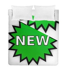 New Icon Sign Duvet Cover Double Side (full/ Double Size) by Mariart