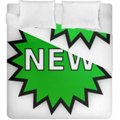 New Icon Sign Duvet Cover Double Side (king Size) by Mariart