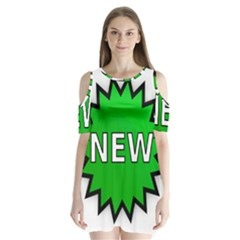 New Icon Sign Shoulder Cutout Velvet  One Piece by Mariart