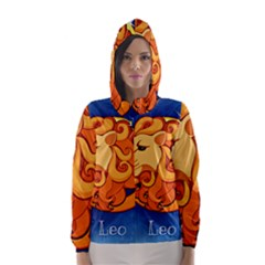 Zodiac Leo Hooded Wind Breaker (women)