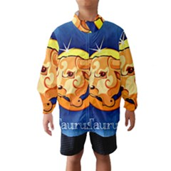 Zodiac Taurus Wind Breaker (kids) by Mariart